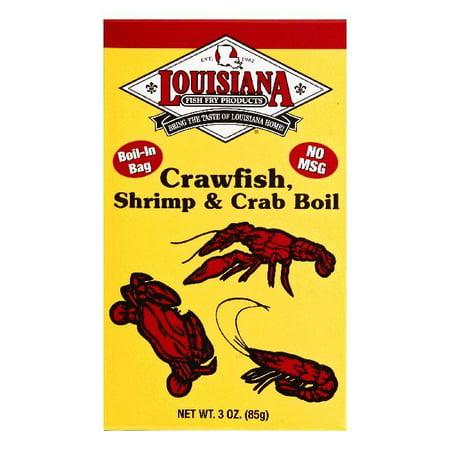 Louisiana Shrimp & Crab Boil Crawfish, 3 OZ (Pack of - Crawfish Boil Supplies