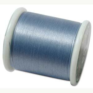 Japanese Nylon Beading K.O. Thread for Delica Beads - Light Blue 50 Meters