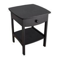 Winsome Wood Claire Curved Nightstand, Multiple Finishes