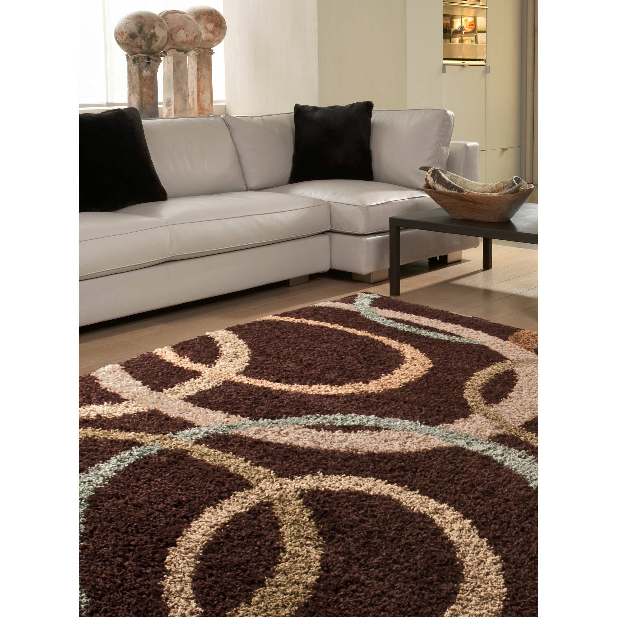 Better Homes and Gardens Pennylane Shag Runner Rug