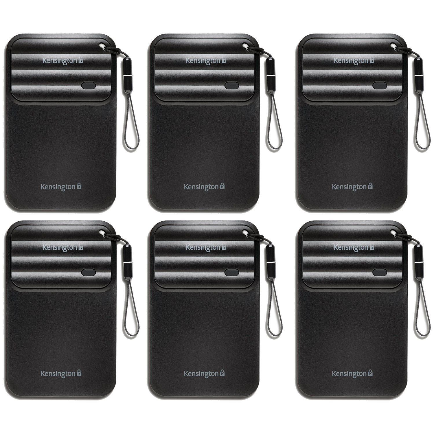 6 Pack Kensington K39771US Android Smartphone Finder Travel Proximity Alarm Tag