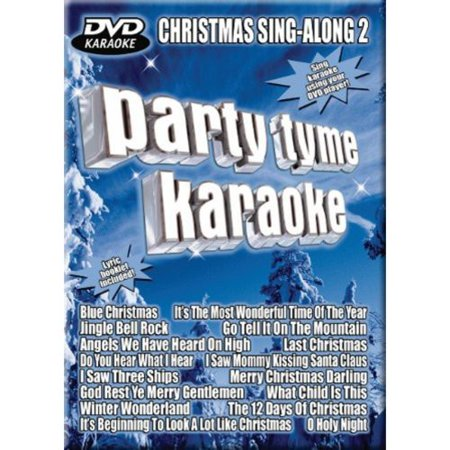 party tyme karaoke christmas sing along 2 - Blue Christmas Karaoke