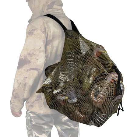 Outdoor Mesh Decoy Bag with Shoulder Straps Duck Goose Turkey Decoy Bag