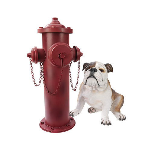 Design Toscano Vintage Fire Hydrant Sculpture