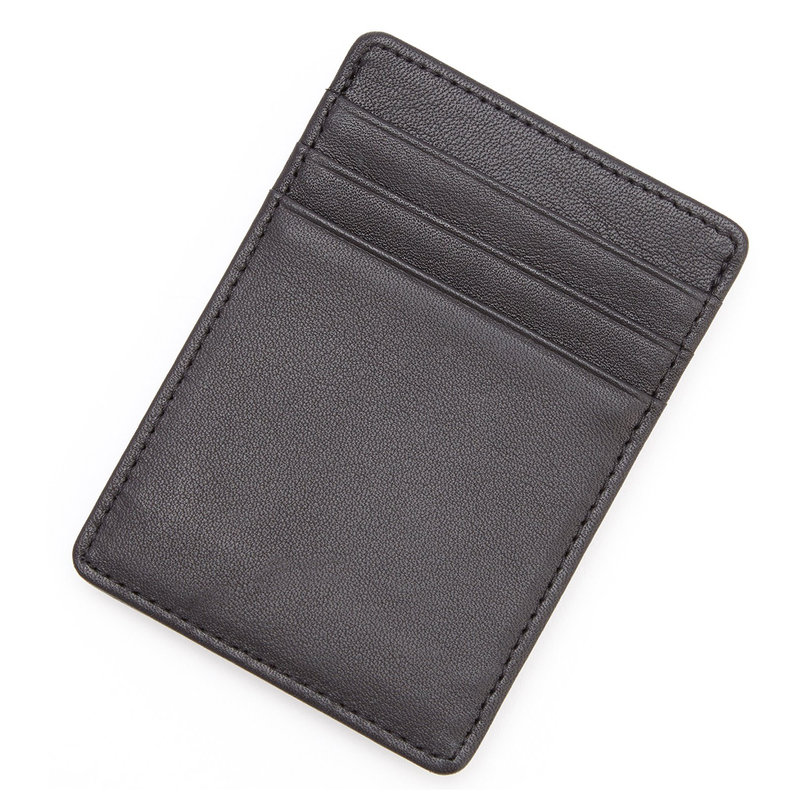 Royce Leather Genuine Leather Slim Magnetic Money Clip Wallet