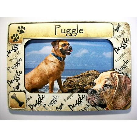 Puggle Dog Breed Picture Frame Fridge Magnet](Photo Magnet)