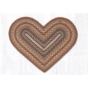 Earth Rugs 10-300 Honey-Vanilla-Ginger Heart Rug