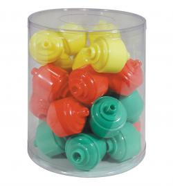 (Price JAR)Aes Industries 323-25 Cookie Jar 25Pc Display by