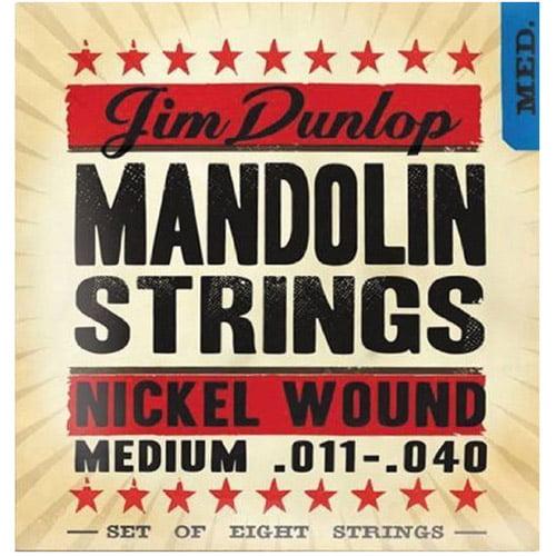 Dunlop DMP1140 Phosphor Bronze Medium Mandolin String, Set of 8, .011-.040 by Dunlop