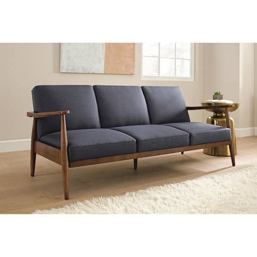 Better Homes And Gardens Flynn Mid Century Futon Multiple Colors Com