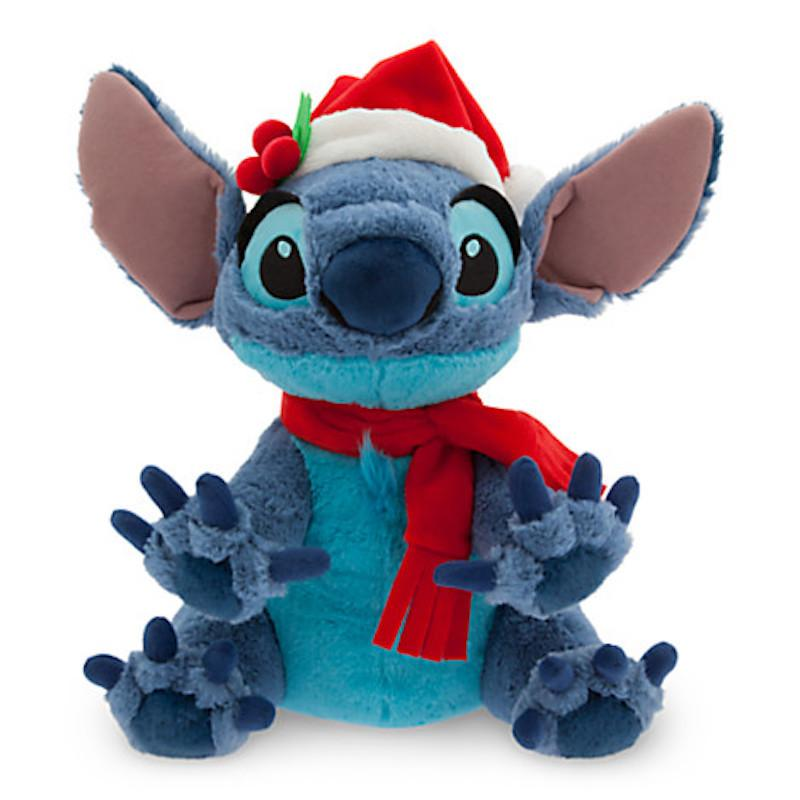 Disney Parks Santa Stitch Christmas 12; Plush New with Tags