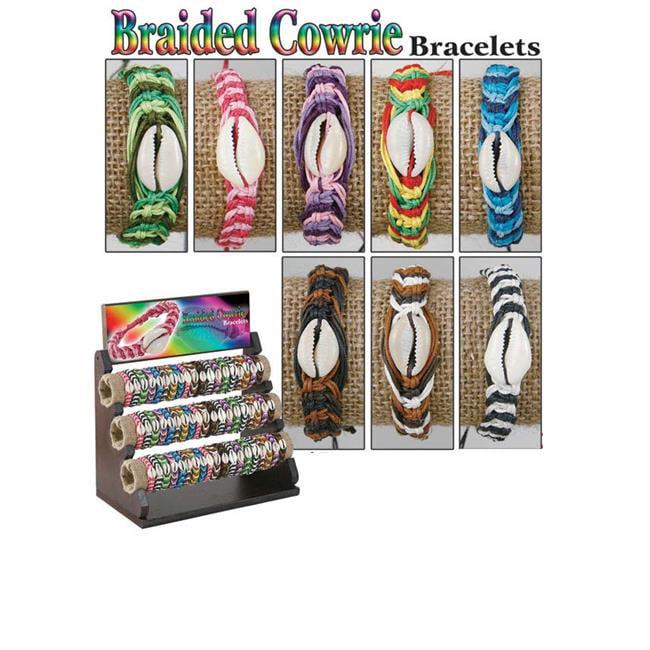 Puka 8548 15 x 9 x 7 Braided Cowtie Bracelets
