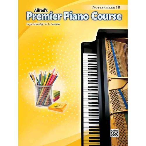 Alfred's Premier Piano Course - Notespeller: Level 1B