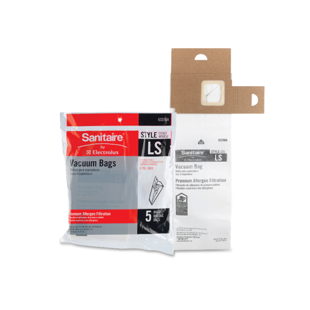 Style Ls Filteraire Vacuum Bags (Genuine Eureka Sanitaire Style LS Allergen Filtration Vacuum Bags 63256A-10 Vac [Single Loose)