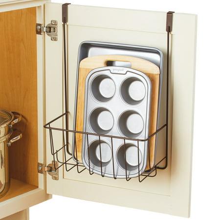Over Cabinet Door Storage Kitchen Organizer Holder For Bakeware