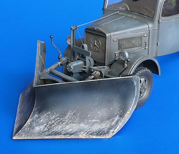 Plus Model 1:35 German Medium Snow Plow Type K Conversion Set For Italeri #240 by Plus Model