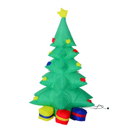 inflatable led christmas tree and presents lawn decoration - Walmart Christmas Lawn Decorations