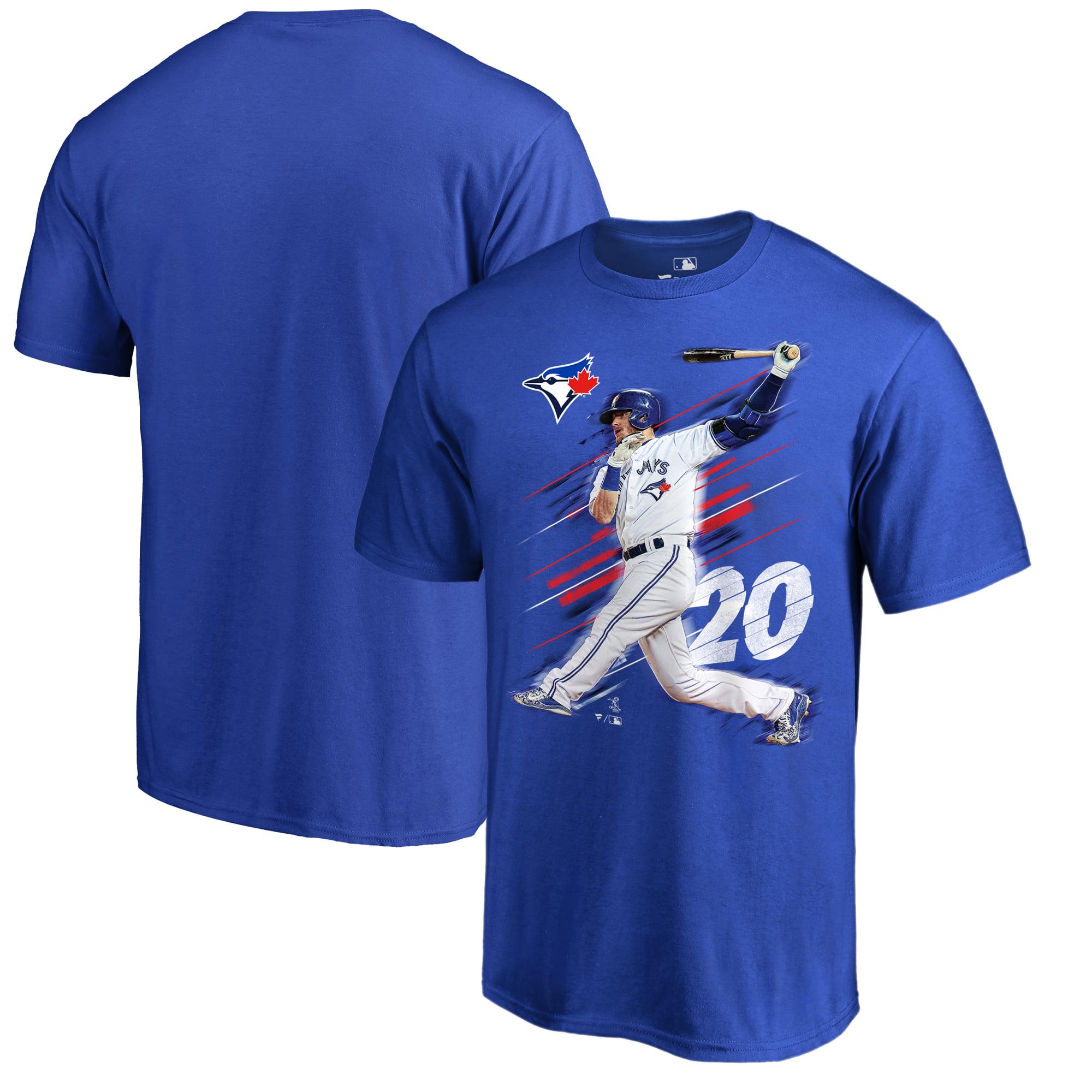 Josh Donaldson Toronto Blue Jays Fanatics Branded Fade Away T-Shirt - Royal