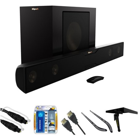 klipsch bluetooth soundbar with wireless subwoofer bundle. Black Bedroom Furniture Sets. Home Design Ideas