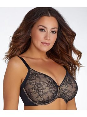 c8be7983d6b98 Product Image Curvy Couture Flawless Lace Full Coverage Side Smoother Bra