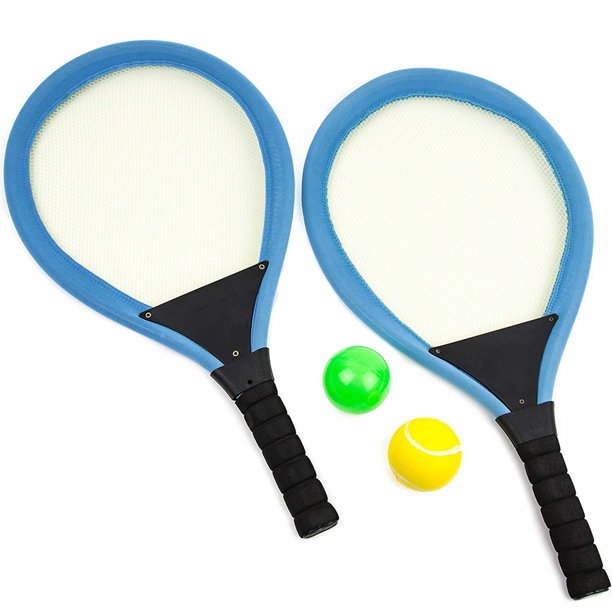Toysery Badminton Racket Set for Kids - Plastic Tennis Rackets Balls  Badminton Set - Indoor Outdoor Sports Play Game Toys for Boys, Girls -  Walmart.com - Walmart.com