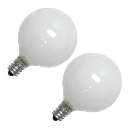 - Philips 168476 - 25G16-1/2/C/W/LL 120V  2-PACK G16 5 Decor Globe Light Bulb