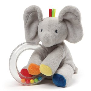 Gund Baby Flappy the Elephant Rattle Plush Toy, 5""