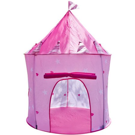Matney Princess Castle Girls Childrens Outdoor Play Tent/Indoor Playhouse, Easy to Assemble and