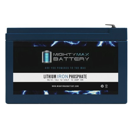 12V 10AH Lithium Replacement Battery for Marcum VX-1Pro