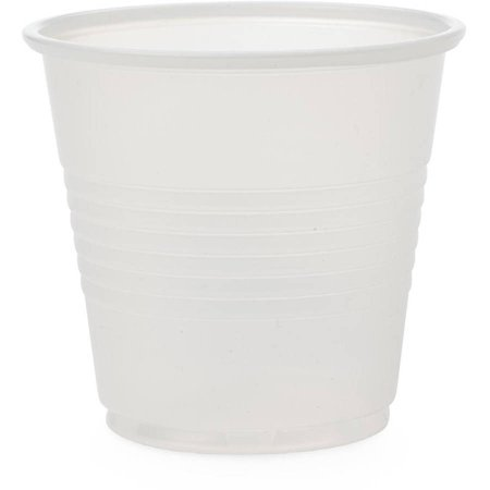 Medline Disposable Cold Plastic Drinking Cups, 3.5 oz - 3.5 Oz To Cups