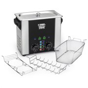 "X-Tronic Model #3000-XTS 3.0 Liter ""Platinum Edition"" Commercial Ultrasonic Cleaner with Time & Temp LED Displays, Sweep & Degas Controls, S/S Cleaning Basket, Wire Rack Holder & Wire Beaker Holder"