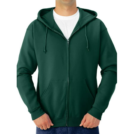 1/2 Zip Fleece Top (Men's Soft Medium-Weight Fleece Full Zip Hooded Jacket)