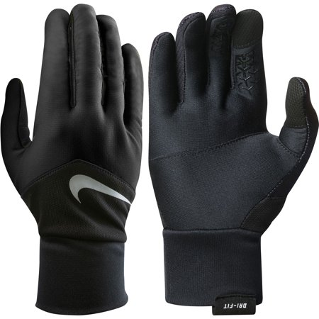 best loved 151be a3316 Nike Mens Dri-FIT Tempo Running Gloves - Walmart.com