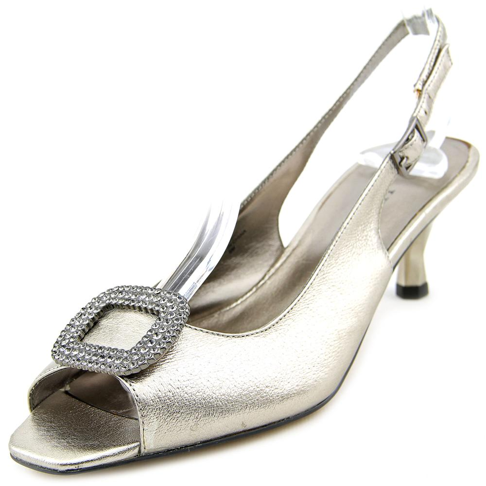 J. Renee Classic Leather Slingback by J. Renee