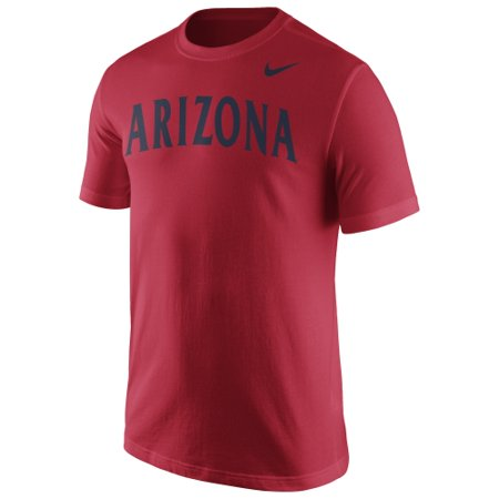 Arizona Wildcats Nike Wordmark T-Shirt - Red (Nike Air Yeezy 2 Red October Price)