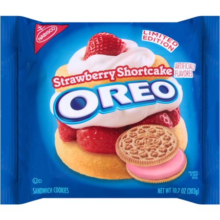 Nabisco Limited Edition Strawberry Shortcake Oreo Sandwich Cookie