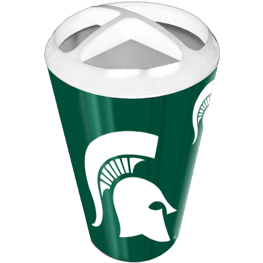 NCAA Michigan State Spartans Decorative Bath Collection - Toothbrush Holder