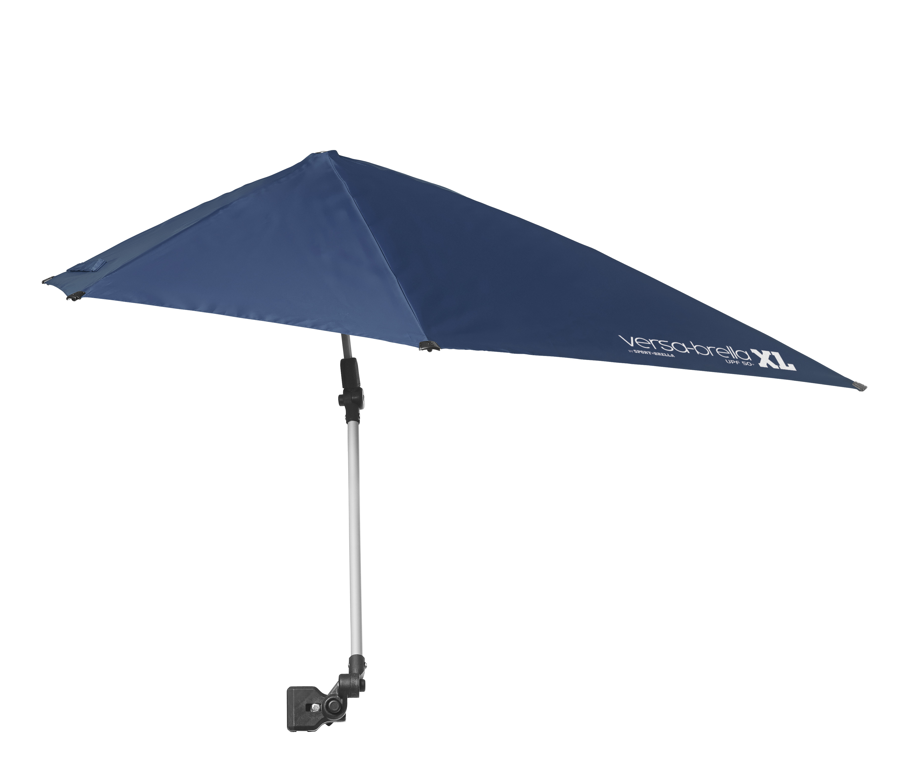 Versa Brella Xl 360 Degree Portable Clip On Umbrella Midnight Blue