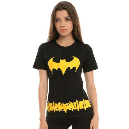Batman Batgirl Suit Junior Women's T-Shirt (Batgirl Outfits)