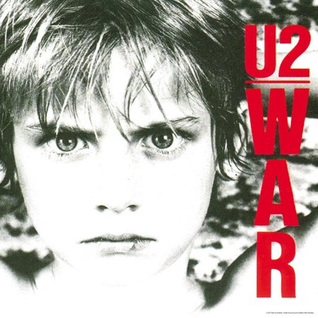 U2 - War Album Cover Rock Music Poster Wall - Rock Album Cover Art