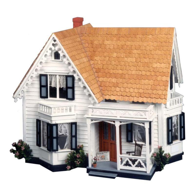Greenleaf Westville Dollhouse Kit - 1 Inch Scale