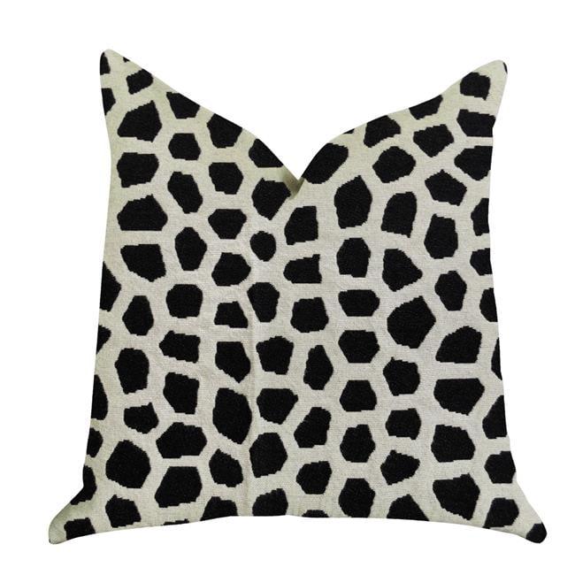 Plutus PBRA1374-2424-DP Dark Jewels Luxury Throw Pillow in Black & White, 24 x 24 in. - image 3 of 3