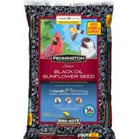 Pennington Select Black Oil Sunflower Wild Bird Seed and Feed, 50 Lbs