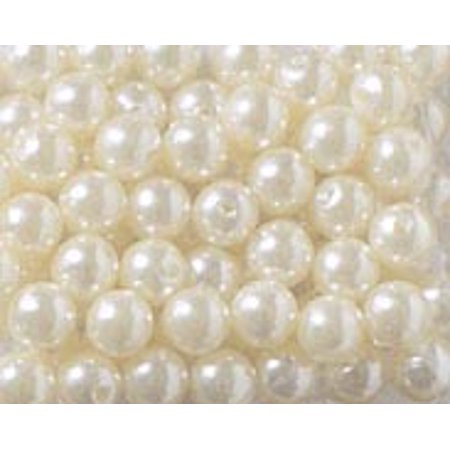 Craft Pearls Bulk Pack: 3mm, White, 3000 Beads
