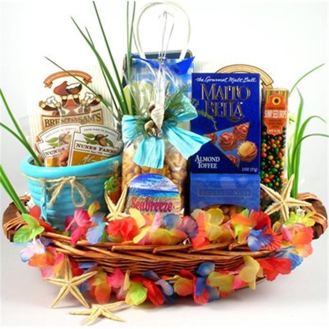 Gift Basket Drop Shipping BiKa Big Kahuna, Tropical Gift Basket