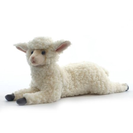 - Hansa Little Lamb Sheep Plush Animal Toy, 18