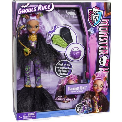 Monster High Ghouls Rule Doll, Clawdeen Wolf Doll