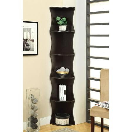 Coaster Cuccino Corner Bookcase