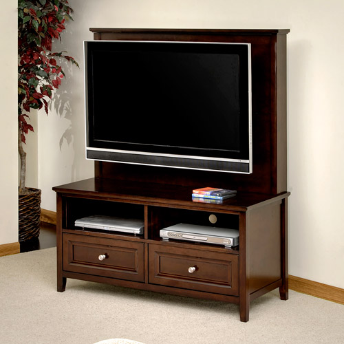 """Canopy Cornerstone Flat-Panel TV Stand, for TVs up to 40"""", Multiple Finishes"""