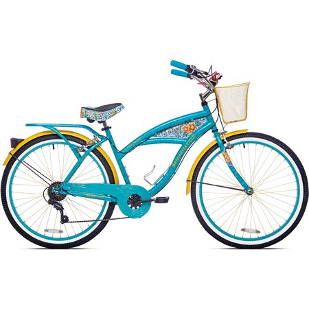 26  Womens Margaritaville Multi Speed Cruiser Bike